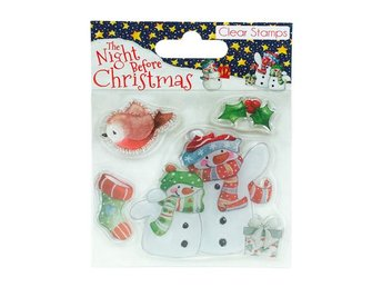 Clearstamps - Night before Christmas - Snowman