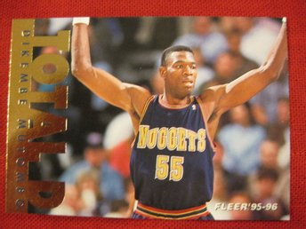 DIKEMBE MUTOMBO - TOTAL D - FLEER 96-96 - BASKET