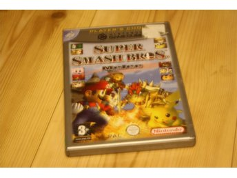 SUPER SMASH BROS MELEE KOMPLETT GC