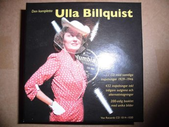 ULLA BILLQUIST FRI FRAKT! - DEN KOMPLETTA ULLA BILLQUIST