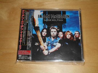 CD - Iron Maiden - Japan CD