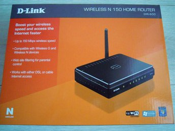 D-Link Wireless N-150 Home Router DIR-600