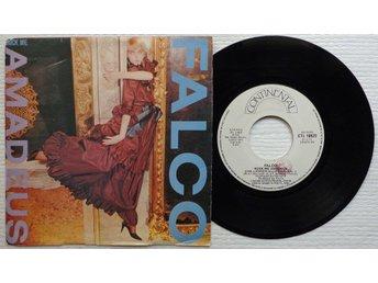 "FALCO 'Rock Me Amadeus' 1985 Italian 7"" - Bröndby - FALCO 'Rock Me Amadeus' 1985 Italian 7"" - Bröndby"