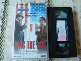 WAG THE DOG,  VHS, FILM