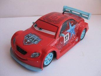 Disney Pixar Cars Bilar Mcqueen metall Long Ge Ice Racers Chaser 1:43 NY - Uddevalla - Disney Pixar Cars Bilar Mcqueen metall Long Ge Ice Racers Chaser 1:43 NY - Uddevalla