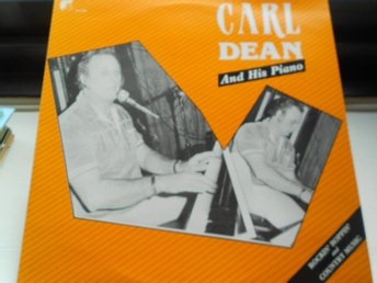 RECORD-SALE SOMMAR-REA! LP CARL DEAN AND HIS PIANO ROCKIN BOPPIN AND ...