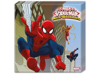 Servetter Spiderman - Spindelmannen 2-Pack