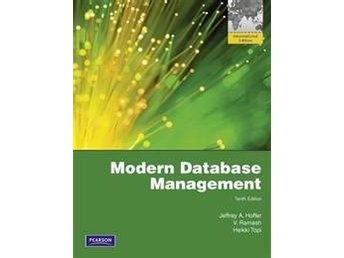 Modern Database Management av Jeffrey A. Hoffer 9781408264317
