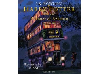 Harry Potter And The Prisoner Of Azkaban- Illustrated Edition (Bok)