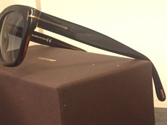 TOM Ford Snowdon FT0237 Sunsglasses Black Helt NYA