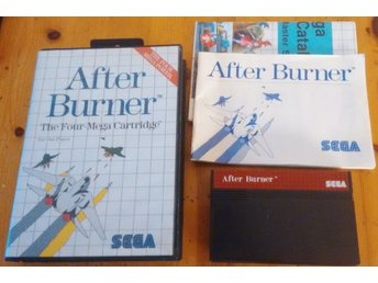 Sega Master System After Burner Komplett