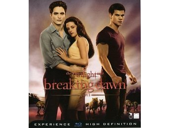 The twilight saga breaking gawn part 1- Ny- Inplastad- Blu-ray