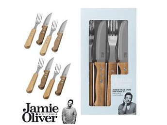 Jamie Oliver Jumbo steak knife and fork set