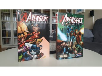 The Avengers Dissassembled deluxe hardcover editions MARVEL Comics Bendis