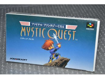 Mystic Quest - Final Fantasy USA - Super Famicom - japanskt - jap jp