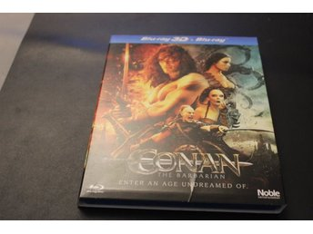 Bluray3D+Bluray-film: Conan - The Barbarian