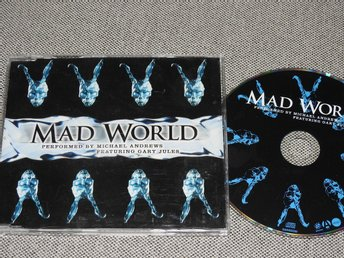 Michael Andrews feat. Gary Jules - Mad World CD Singel (slim case) SANXD250