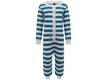 STRIPE KIDS BUTTONED PAJAMA UNISEX BOY GIRL 1ONEZIE JUMPSUIT CHILDRENS