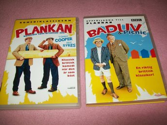 Badliv & Picnic + Plankan - 2 DVD - Tommy Cooper - Eric Sykes