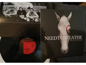 NEED TO BREATHE - THE OUTSIDERS - VINYL - 2009 - INSERT