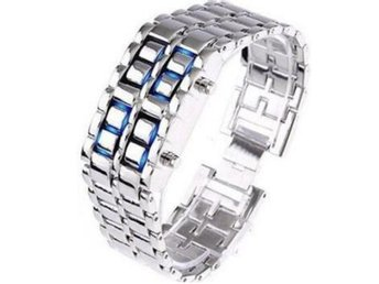NEW Iron Samurai Cool Trendig Digital LED Klocka Armbandsur