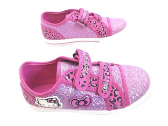 Hello kitty rosa glittriga skor str 28