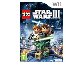 Lego Star Wars The Clone Wars 3 Nintendo Wii