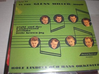 "ROLF LINDELLS "" PERFIDIA "" EP VG+"