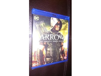 Arrow 2015-16 Season Four 4 23 Episodes 4 disc  Blu-ray  NY