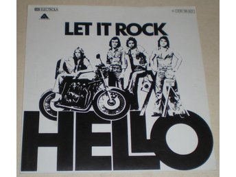 Hello SINGELOMSLAG Let it rock 1977