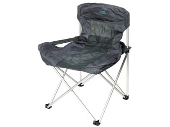 Camp Gear Hopfällbar campingstol Deluxe Compact antracit 1204739