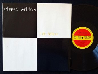 "E'LEESA WELDON (M-) – I Do Believe / 12"" Vinyl '88 / ZYX Records / Electronic"
