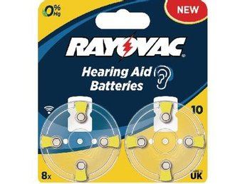 Rayovac Zink-Air Battery PR70 1.4 V 8-Blister