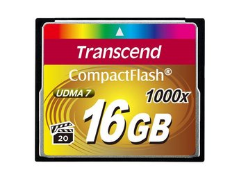 Transcend CompactFlash  16GB 1000x
