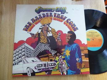 JIMMY CLIFF - The harder they come ISLAND UK -7?  LP