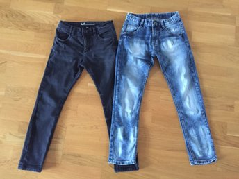 2 par jeans i storlek 140 lab Industries