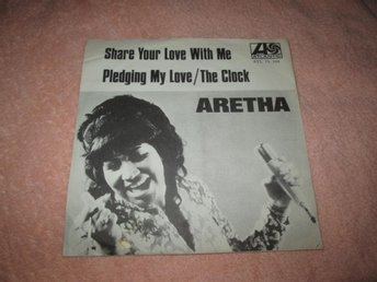 ARETHA FRANKLIN SHARE YOUR LOVE WITH ME  ATLANTIC