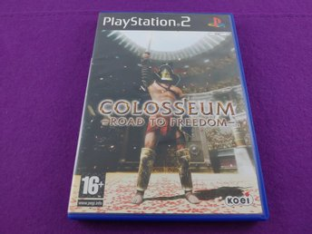PS2 Colosseum Road To Freedom Komplet Mycket Fint Skick
