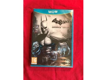 BATMAN ARKHAM CITY ARMOURED EDITION WII U NINTENDO INPLASTAD NYTT