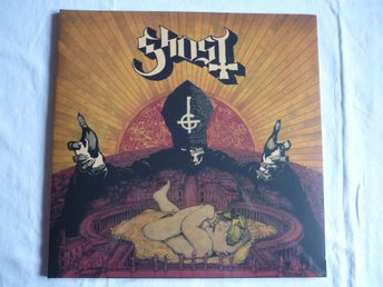 GHOST infestissumam LP 1ST PRESS CLEAR + SIGNED PREORDER BOOKLET STILL SEALED