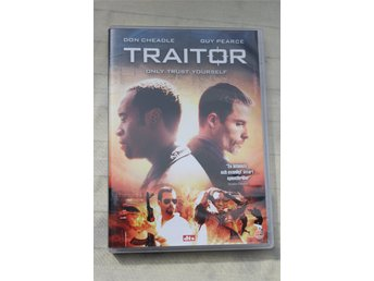 Don Cheadle Guy Pearce TRAITOR DVD Ny!