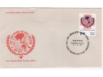 "INDIEN, 1962 - 1977, 3 FDC, "" Malaria + 1st Asian Regional Red Cross Conf + ICY"""