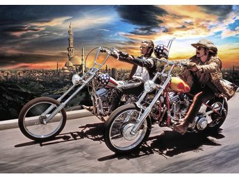 Easy Rider Limited Edition canvastavla en av 50 gjorda