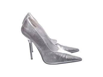 The Highest Heel, Pumps, Strl: 41, Silverfärgad, Skinnimitation