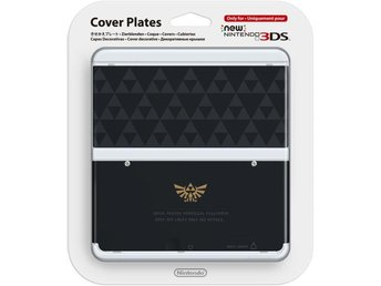Nintendo Cover Plates for New Nintendo 3DS - Zelda Logo - Nintendo 3DS