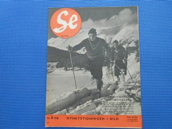 SE nr 6 1948 Olympiad OS ST Moritz Boden Jack Haries Rit-Ola