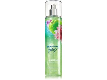 BATH & BODY WORKS BEAUTIFUL DAY DIAMOND SHIMMER MIST LIMITED