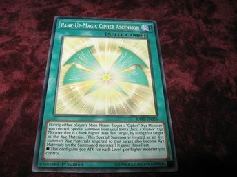 YU-GI-OH RANK-UP-MAGIC CIPHER ASCENSION RATE-EN056