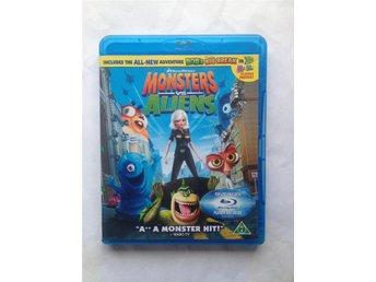 BluRay - Monsters VS Aliens - Kallinge - BluRay - Monsters VS Aliens - Kallinge