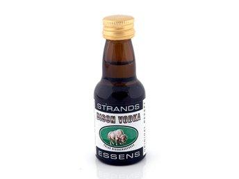 Javascript är inaktiverat. - Jordbro - Strands Bisonvodka innehåller 25 ml essens som du fyller upp med okryddat brännvin och resultatet blir en riktigt god vodka. Bisonvodka är en med gräs smaksatt vodka som är rågdestillerad. Dela med dig av smakupplevelsen med vänner och fa - Jordbro